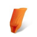 Pack of 2 Silicone EGO Biogrips (Straight) in Orange - Up to 19MM Tubes