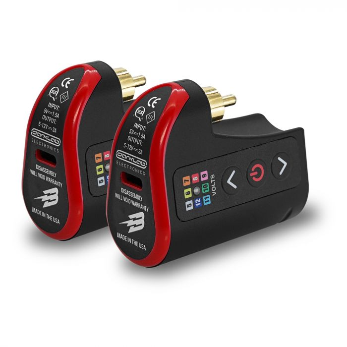 FK Irons Darklab: Lightning Bolt Wireless RCA Battery Pack - Double Pack