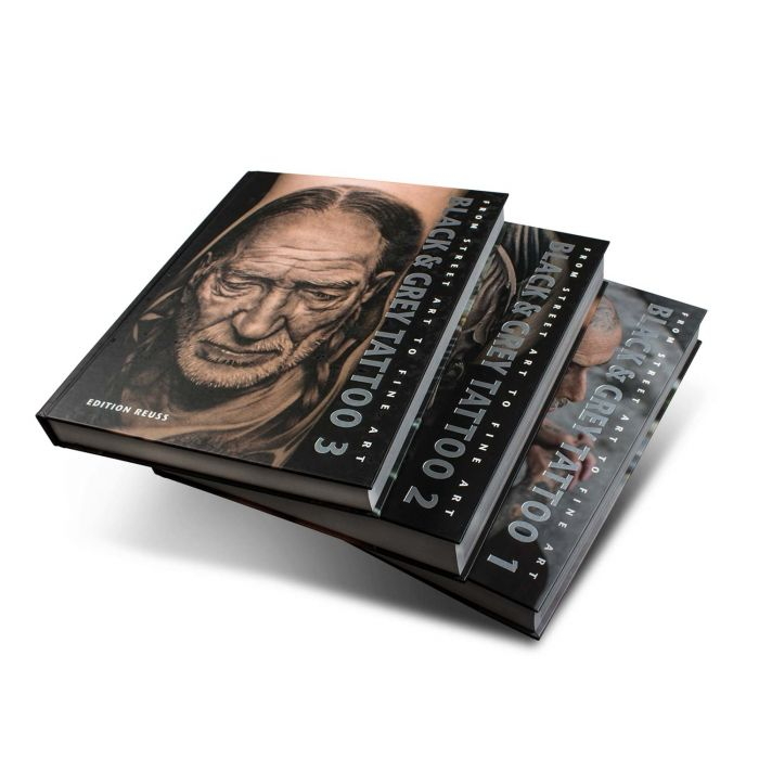 Black & Grey Tattoo Book: 1-3 Volume Set - Edition Reuss