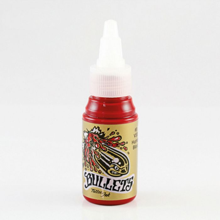 Bullets Tattoo Ink VSB Human Blood 35ml