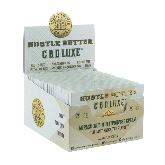 Hustle Butter CBD Luxe Packettes Organic Tattoo Care 1.875g