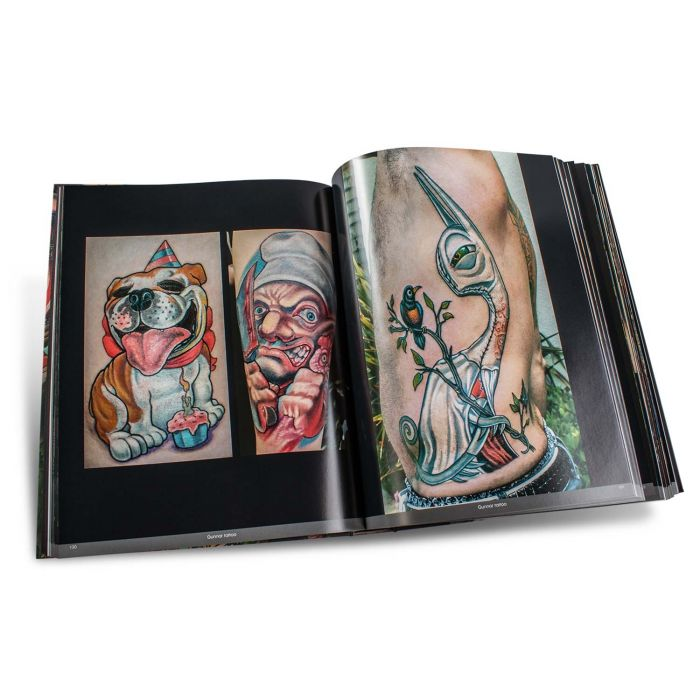 Color Tattoo Art Book: Comics, Cartoon, Pin-Up, Manga + New School - Edition Reuss