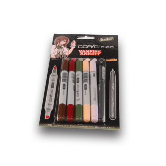 Copic CIAO Markers - Vampire Knight - Pack of 5+1