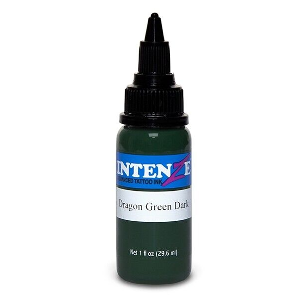 Intenze Ink Dragon Green Dark 30ml (1oz)