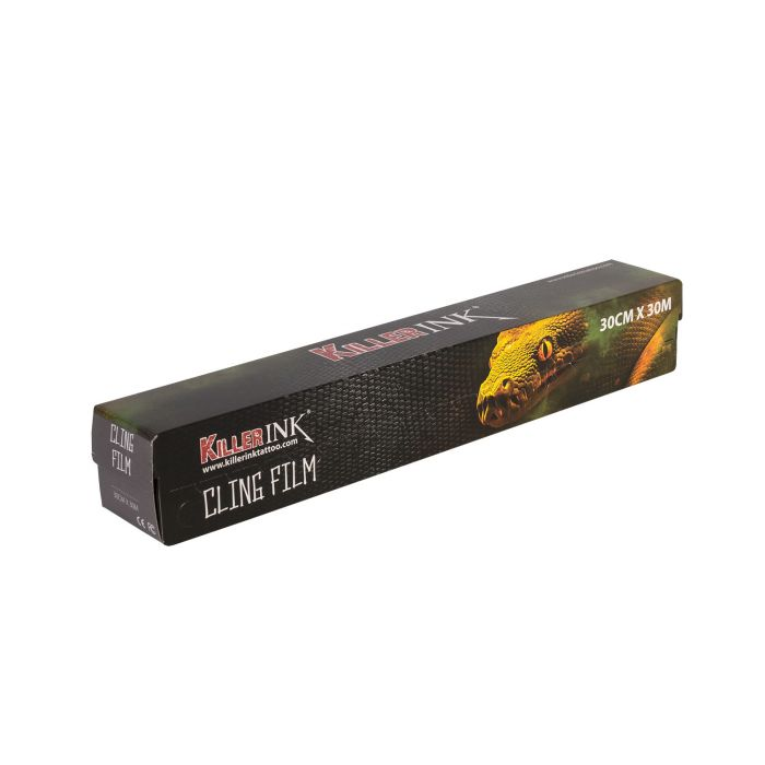 Killer Ink Easy Cut Cling Film in Dispenser 30m x 30cm