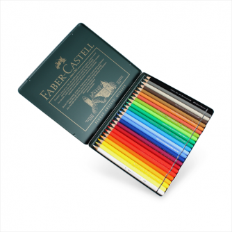 Faber-Castell - Tin of 24 Albrecht Durer Artists' Watercolour Pencils