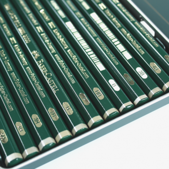 Faber-Castell - Castell 9000 Design Set of 12 Pencils