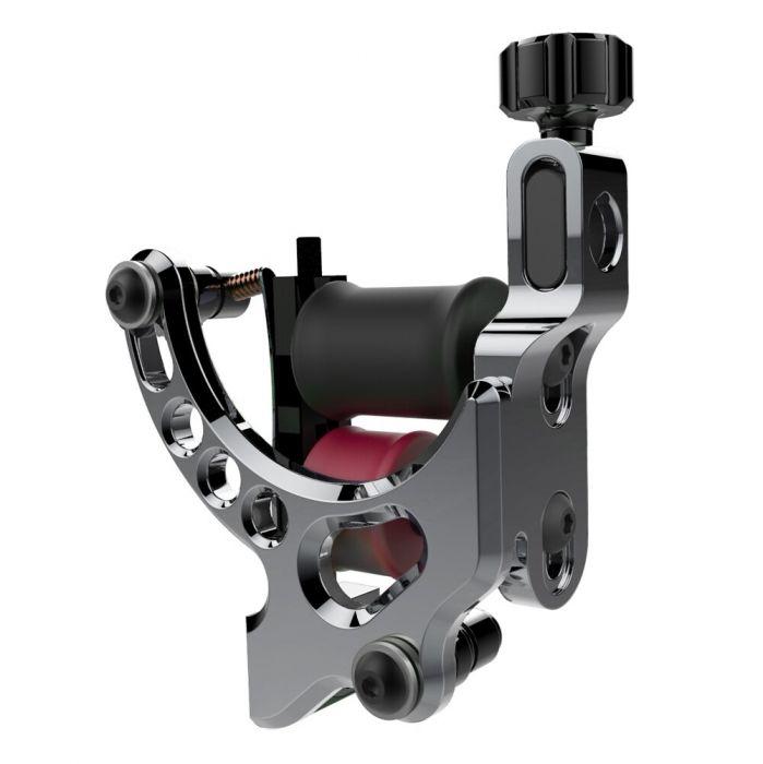 FK Irons AL13 Exactor III Aluminium Tattoo Machine in Gunmetal - Colour Packer