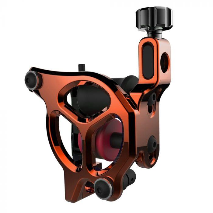 FK Irons AL13 Galaxie III Aluminium Tattoo Machine in Tangerine - Conventional Liner