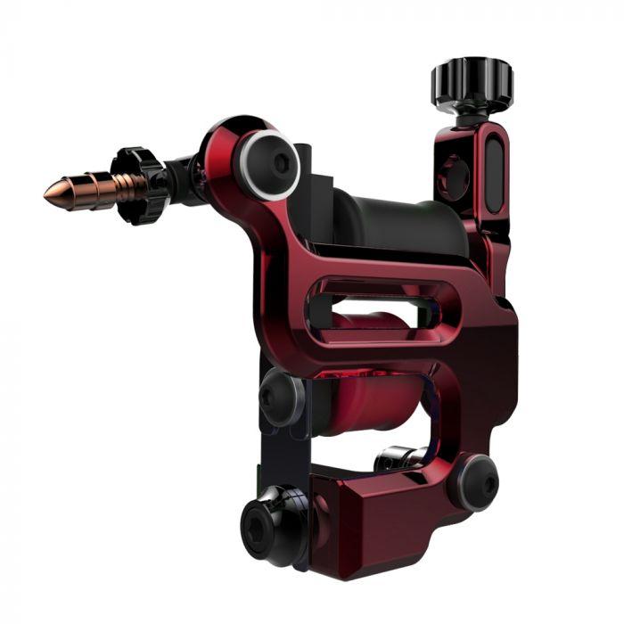 FK Irons AL13 Roswell Aluminium Tattoo Machine - Ruby - Colour Packer