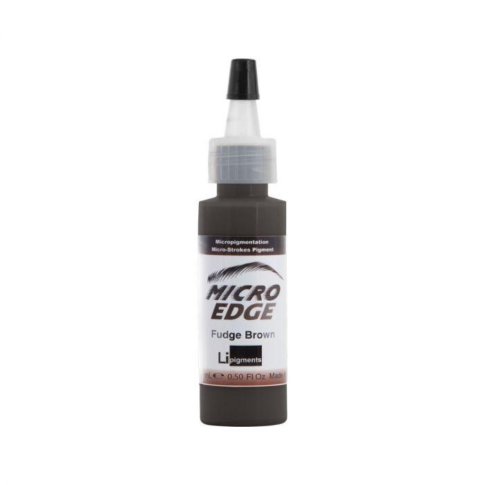 Li Pigments Micro Edge Brow Colors - Fudge Brown 15 ml