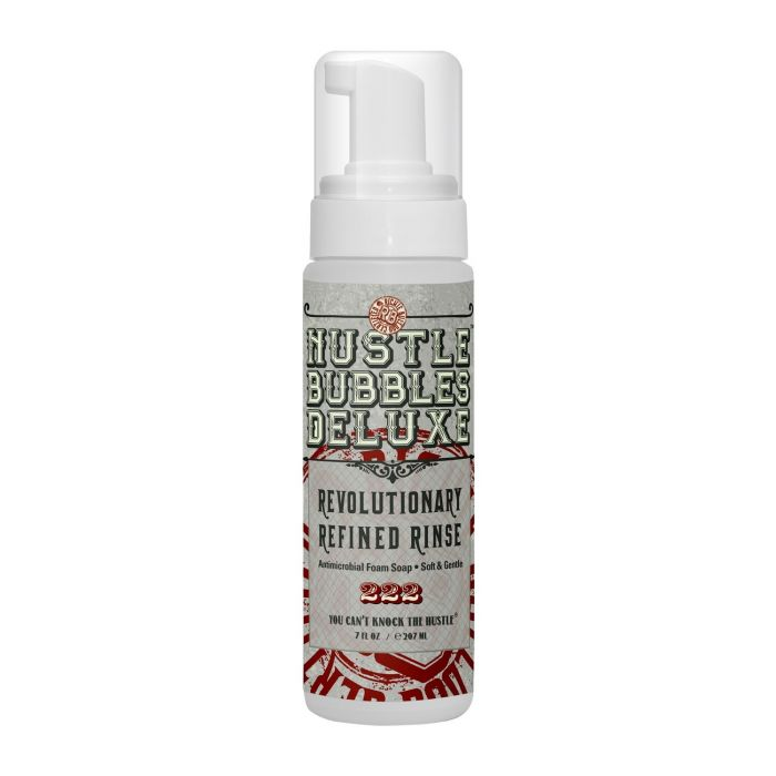 Hustle Bubbles Deluxe Antimicrobial Foam Wash 207ml