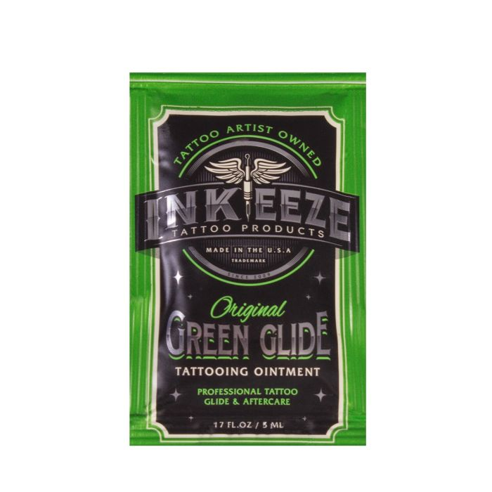 INK-EEZE Green Glide Tattoo Ointment