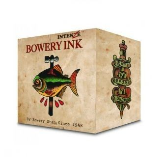 Complete Set of 8 Intenze Bowery Ink by Stan Moskowitz 30ml (1oz)
