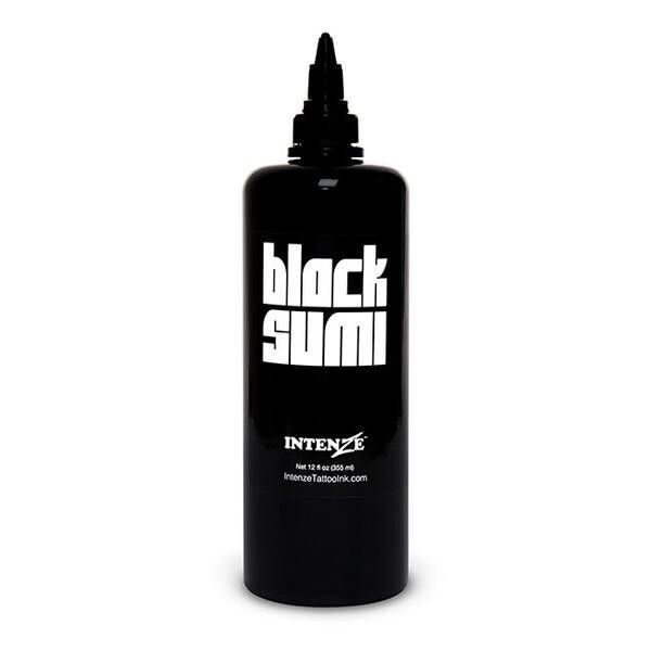 Intenze Ink Japaneze Black Sumi 360ml (12oz)