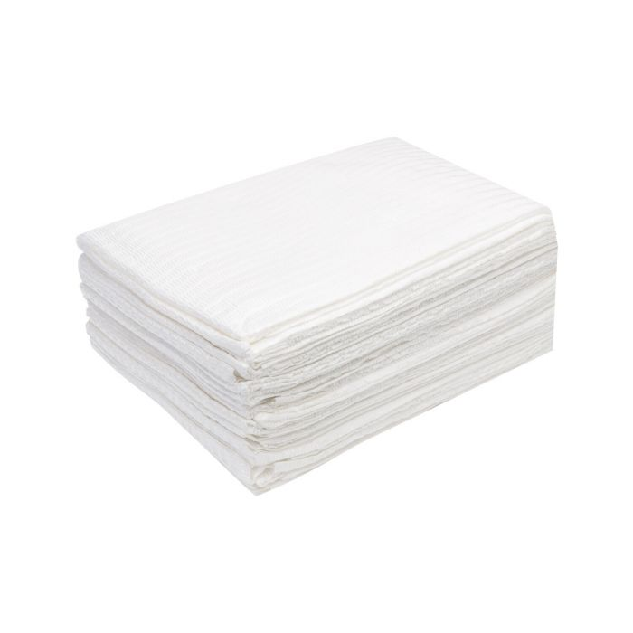 Box of 20 Killer Beauty Waterproof Client Drapes - White