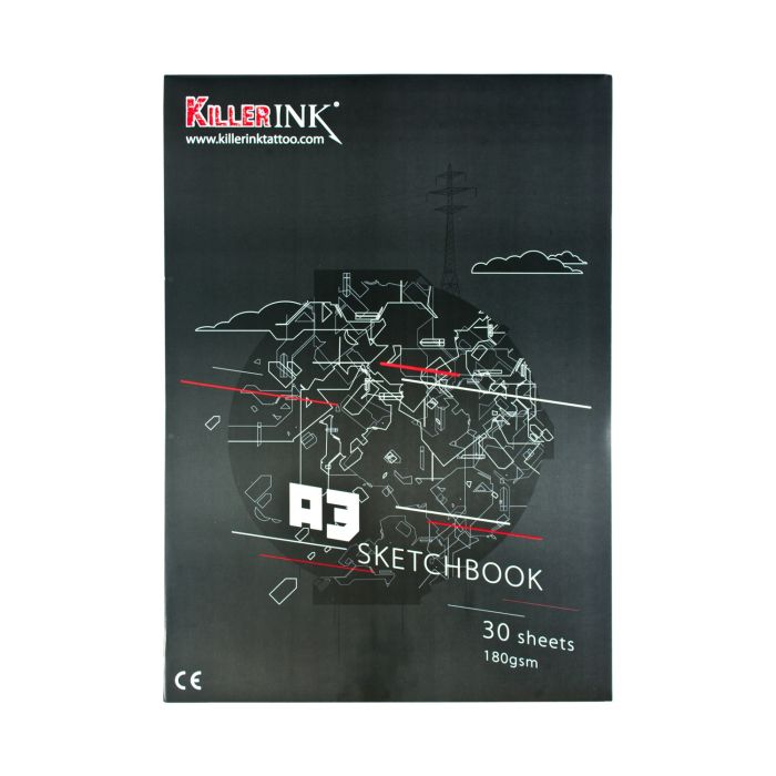 Killer Ink 63GSM Tracing Paper Pad A3 or A4 (50 sheets)