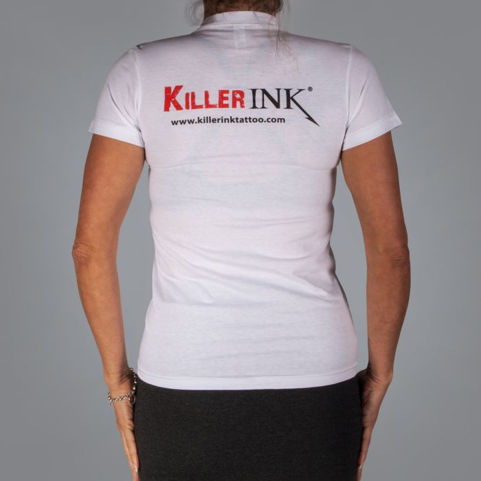 Killer Ink Women's T-Shirt - White