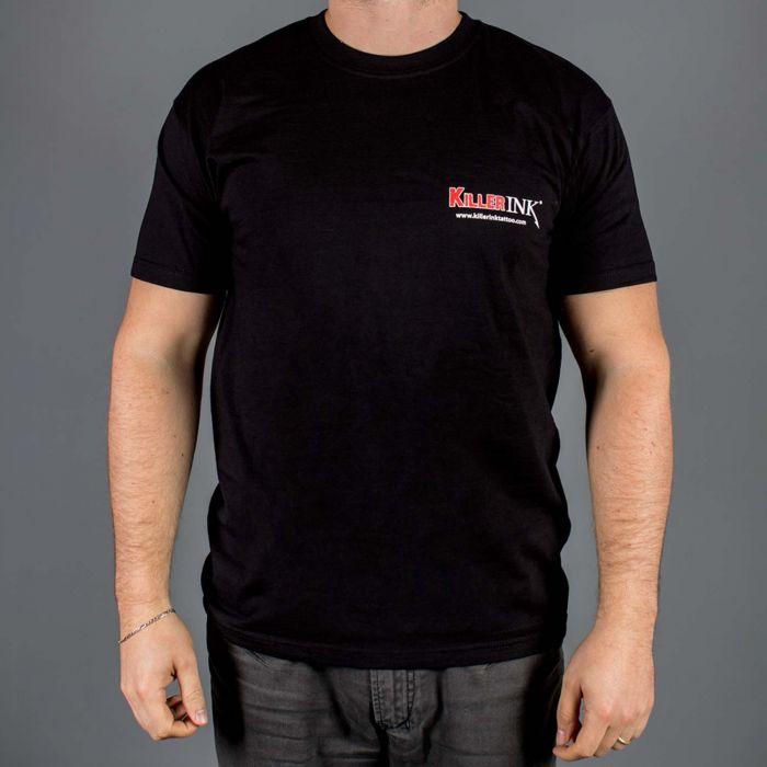 Killer Ink Round Neck T-Shirt in Black