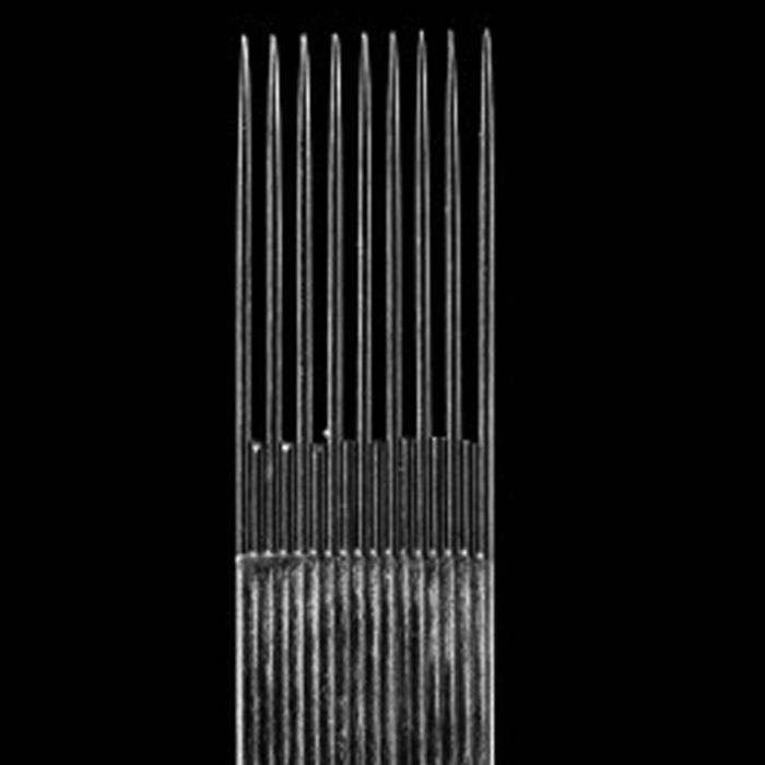 Box of 50 KWADRON Needles 0.30MM LONG TAPER - Smooth Shader