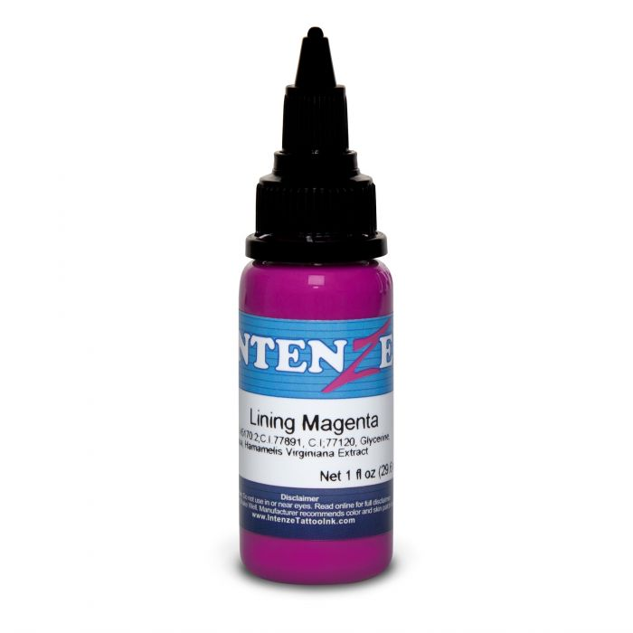 Intenze Ink Color Lining Series Lining Magenta 30ml (1oz)