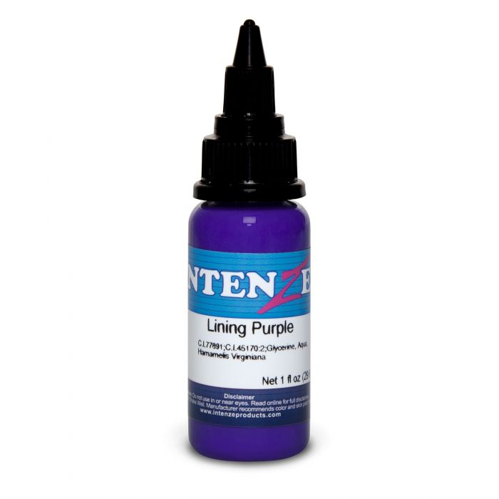 Intenze Ink Color Lining Series Lining Purple 30ml (1oz)
