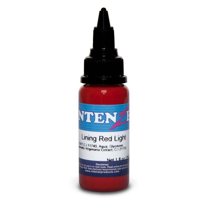 Intenze Ink Color Lining Series Lining Red Light 30ml (1oz)