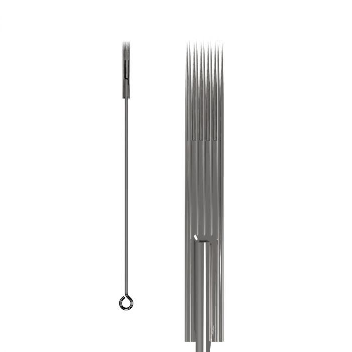Box of 50 KWADRON Needles 0.25MM LONG TAPER - Magnum