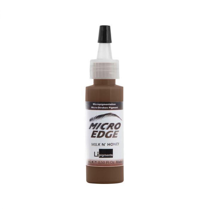Li Pigments Micro Edge Brow Colors - Milk N' Honey 15 ml