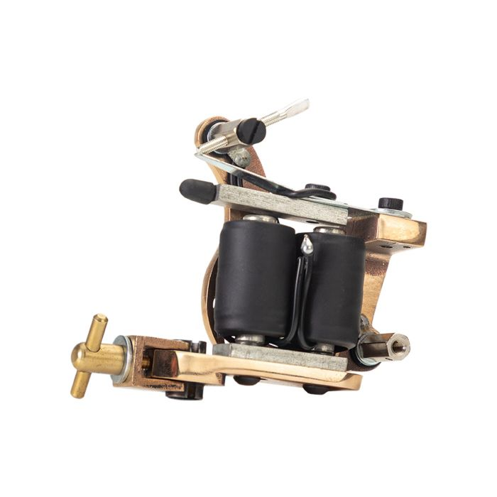 Micky Sharpz - Bronze T Dial Tattoo Machine - Colour / Shader