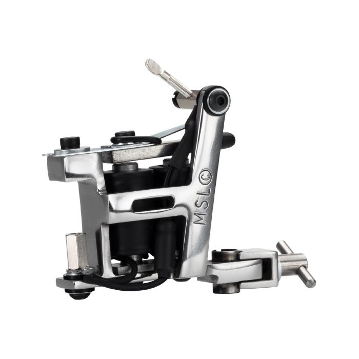 Micky Sharpz - Stainless Steel Hybrid Tattoo Machine - Liner / Colour / Shader