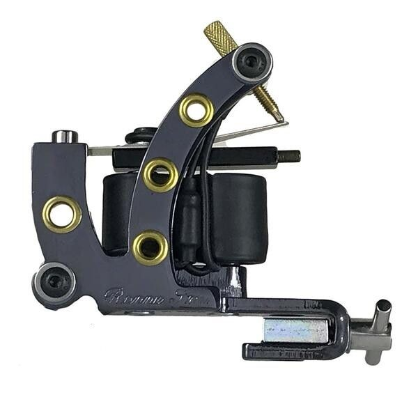 Ronnie Starr Tattoo Machine - Lightweight V2 Liner - Black Chrome