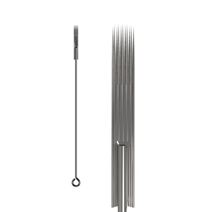 Box of 50 KWADRON Needles 0.35MM LONG TAPER - Soft Edge Magnum