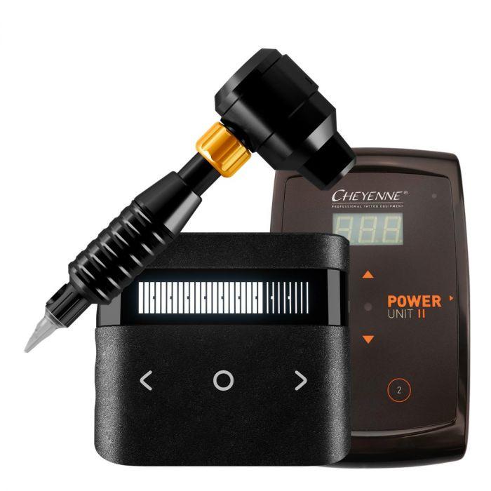 Cheyenne Sol Luna Drive + Grip + Power Supply Package in Black