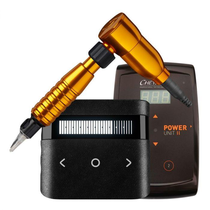 Cheyenne Hawk Spirit Drive + Grip + Power Supply Package in Orange
