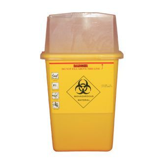 Tattoo Sharps Bin 1L Capacity