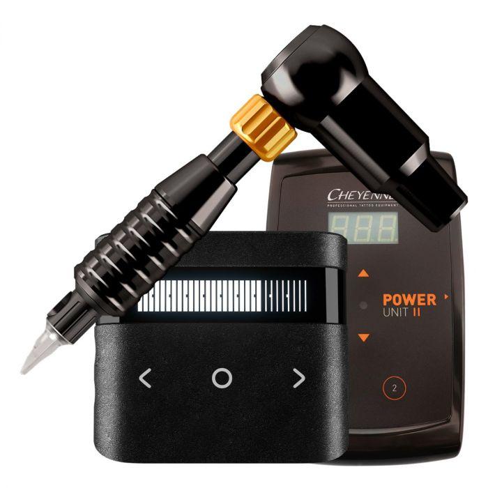 Cheyenne Hawk Thunder Drive + Grip + Power Supply Package in Black