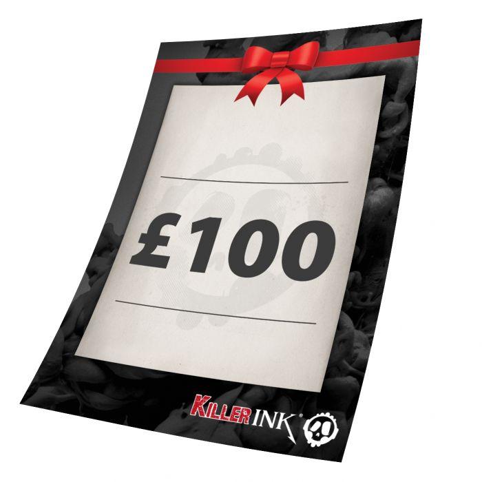 Killer Ink £100 Gift Voucher