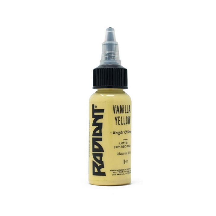 Radiant Colors Vanilla Yellow (Pastel) 30ml