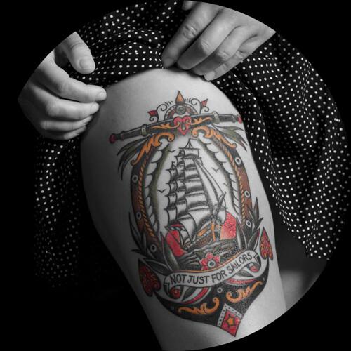 Tattoo british tattoo art revealed killer ink tattoo for Standard ink tattoo company