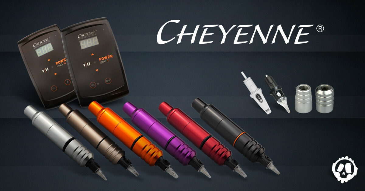 Cheyenne professional tattoo equipment killer ink tattoo for Motorcity tattoo supply