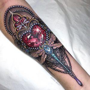 Jenna Kerr Interview Tattoo 1