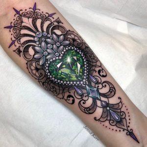 Jenna Kerr Interview Tattoo 2