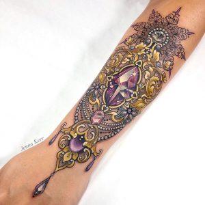 Jenna Kerr Interview Tattoo 3